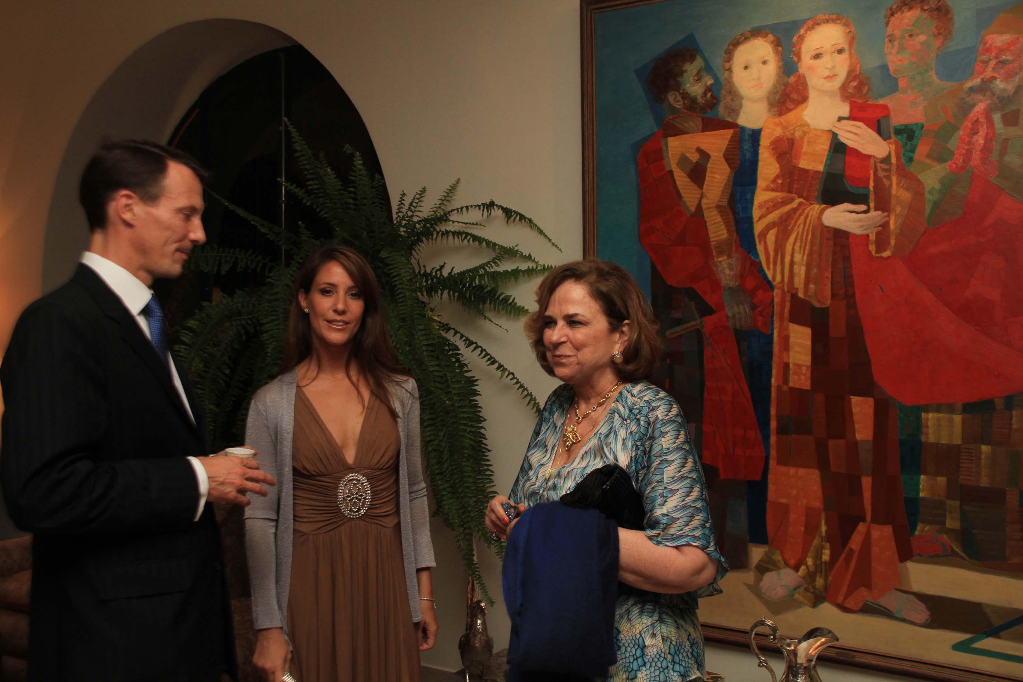 lily18 Jantando com os príncipes da Dinamarca
